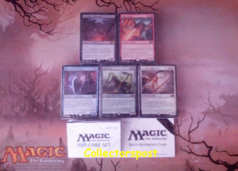 MTG M15 Intro Decks All Five Colors