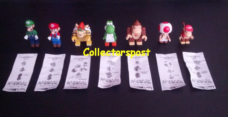 K'NEX Mario Kart Complete figure set
