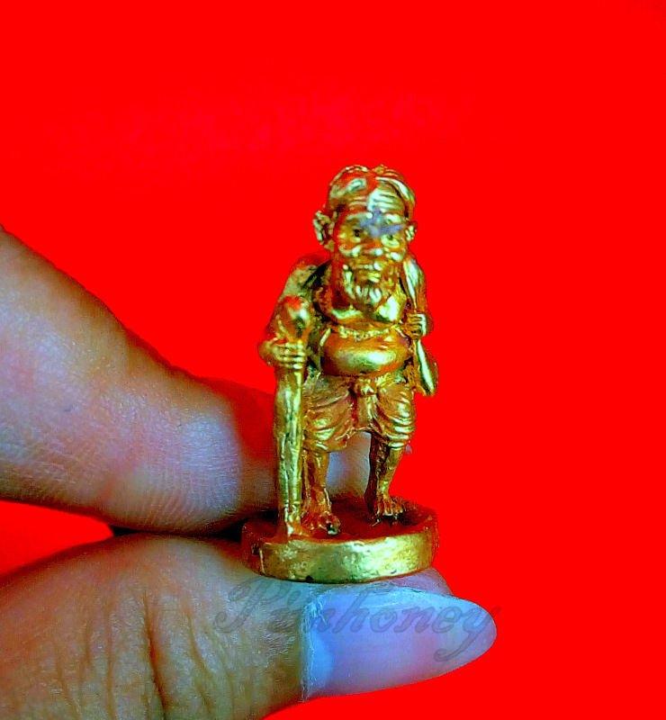 THAI AMULET YANT PENDANT POWERFUL BUDDHA TALISMAN PHRA RARE LP TIM CHOOCHOK RICH