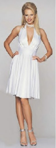 SeXy Deep V Marilyn Monroe Dress Costume, Retail $85