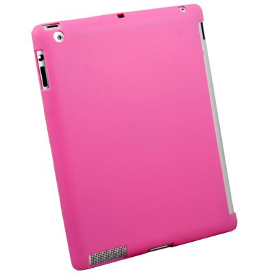For iPad 2 Smart Cover Companion TPU Case Pink