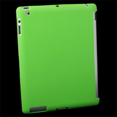 Green Companion TPU Case with Smart Cover for IPAD 2 #6390#