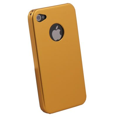 Gold Aluminum Metal Cover Case For iPhone 4 4G 4S
