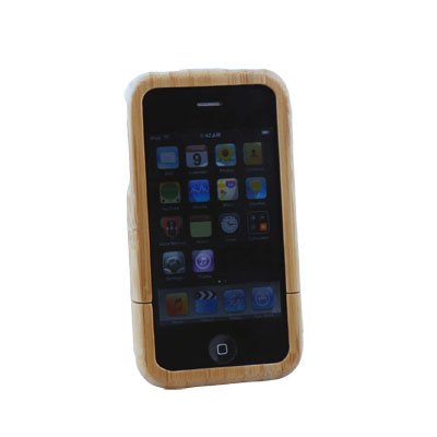 For iPhone 4 G 4th gen Wooden Bamboo Hard Case Cover #5752#