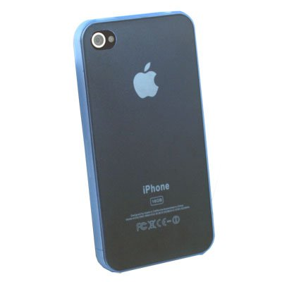 For iPhone 4G Super Thin 0.35mm 3.5g Slim Case (Blue) #6871#