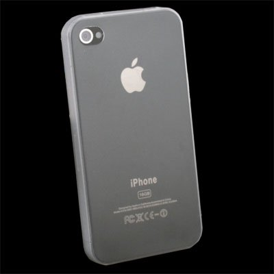 Super Thin 0.35mm 3.5g Slim Case for iPhone 4G Clear#6874#