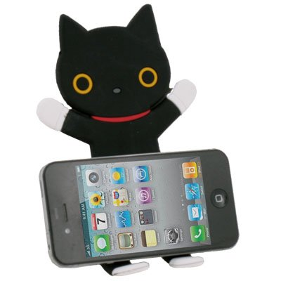 Rilakkuma Black Cat Stand For iPhone 3GS 4 4S