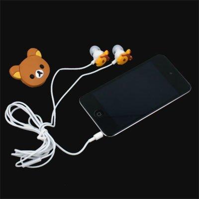 Rilakkuma Earphone Headphones For MP3 MP4 PC IPHONE PSP