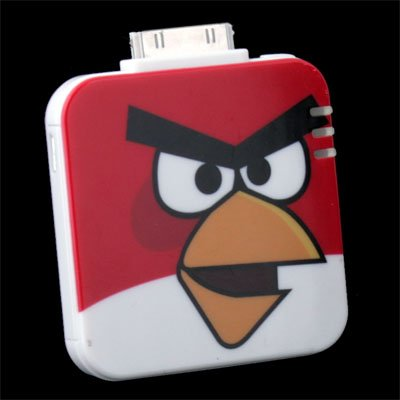 External Powerstation Battery Charger For iPhone 4 Red