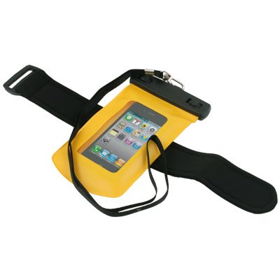 Waterproof Hard Case Cover for Apple iPhone 4G (Yellow)