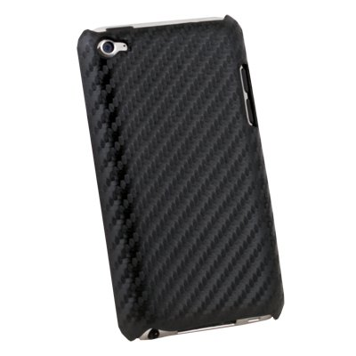 Black Matts Pattern Hard Case For Apple iPod Touch 4