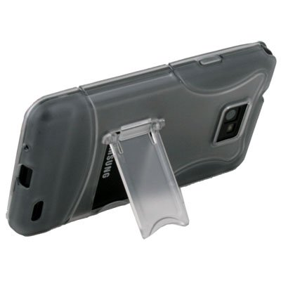 Gray Case Cover with Stand for SAMSUNG GALAXY S2 i9100