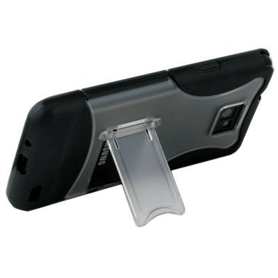 For SAMSUNG i9100 Stand Case Cover Black