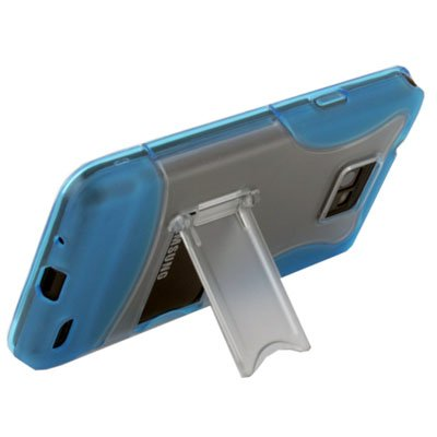 Azure Stand Case Cover for SAMSUNG GALAXY S2 i9100