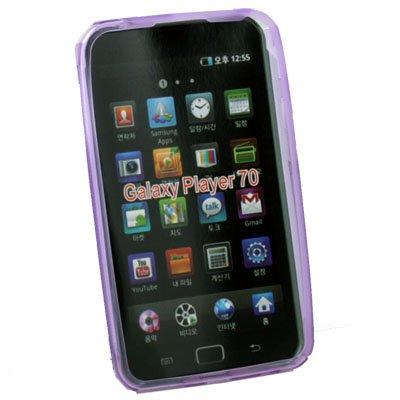 Soft TPU Gel Skin Case for Samsung Galaxy Play 70 (Purple)