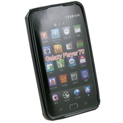 Black Soft Gel Skin Case for Samsung Galaxy Play 70