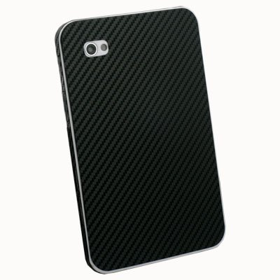 Samsung Galaxy Tab P1000 Carbon Fiber Sticker Protector