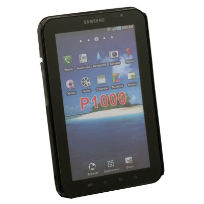 Crystal Black Hard Case for Samsung Galaxy Tab P1000