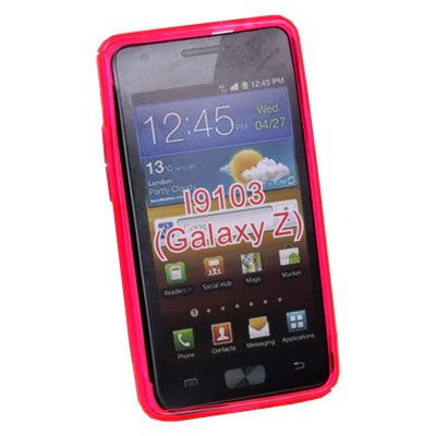 Pink TPU Skin Case Cover for Samsung Galaxy Z i9103