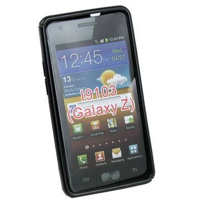 For Samsung Galaxy Z i9103 Black TPU Gel Skin Case