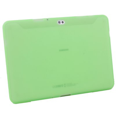 For Samsung Galaxy Tab10.1v Silicone Case Cover Green #7089#