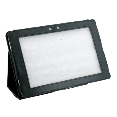 Black Stand Leather Case Cover for Asus Eee Pad 10.1 TF101 #7180#