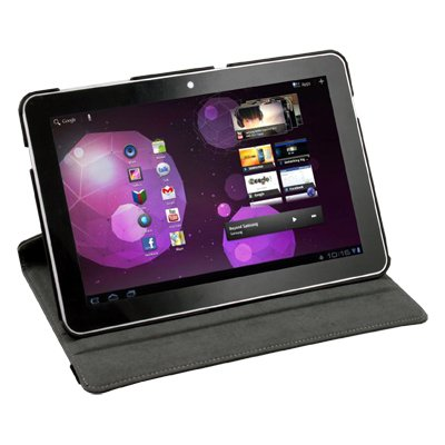 360° Leather Cover Case For Samsung Galaxy Tab 10.1 P7510