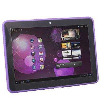 For Samsung Galaxy Tab 10.1 GT-P7510 TPU Gel Case Purple