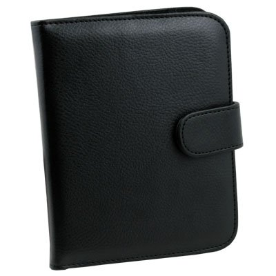 Black PU Leather Case Cover For nook 2nd Simple Touch #7078#