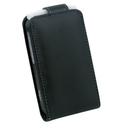 PU Leather Pouch Case for HTC Widifire SG13 Black