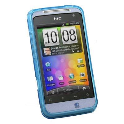For HTC Salsa G15 C510e TPU Skin Case Cover Blue
