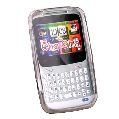 For HTC ChaCha G16 Gray Soft TPU Gel Silicone Back Case