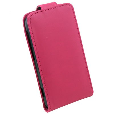 PU Leather Case Pouch Cover For HTC S S710e Peach