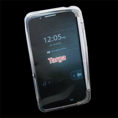 TPU Gel Soft Skin Case Cover for Motorola XT875 Targa Clear