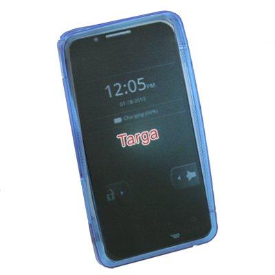 For Motorola XT875 Targa Gel Soft Skin Case Cover Blue #7041#