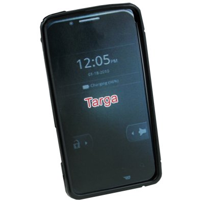 Black TPU Gel Soft Skin Case Cover for Motorola XT875 Targa