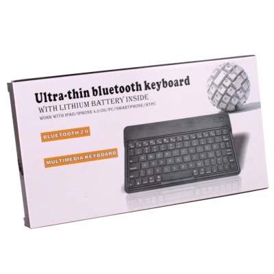Slim Ultra-thin Wireless Mini Bluetooth Keyboard for iPad 2 Mac PC Galaxy Tablet