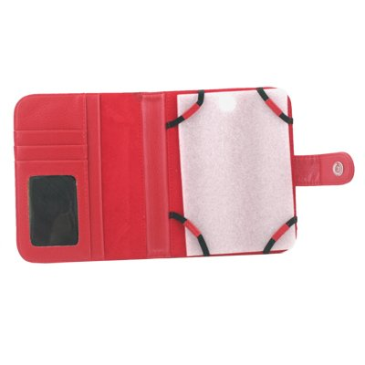 For nook 2nd Simple Touch PU Leather Case Cover Red #7082#