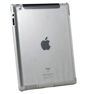 For iPad 2 Hard Case Work With Apple Smart Cover Gray