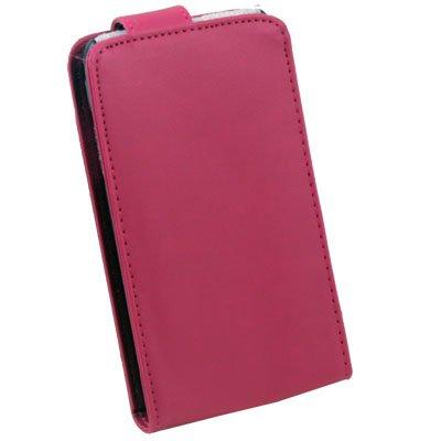 For Samsung i9003 PU Leather Case Peach