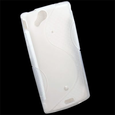 Transparent TPU Skin Case for Sony Ericsson ARC X12 LT15i