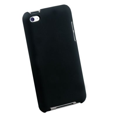 Black Hard Thin Case Cover for Apple ipod Touch 4 4th