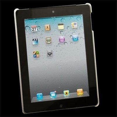 White Matts Hard Case Sleeve for Apple iPad 2 iPad2