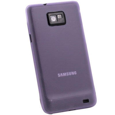 Purple 0.35mm 3.5g Slim Case Cover for Samsung Galaxy S2 i9100