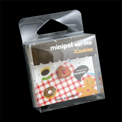 3.5mm Minipol Earphone Dust Cap (HeartCookie)