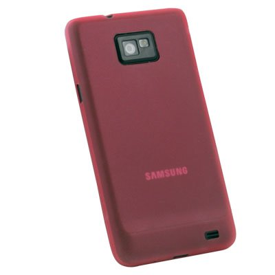 For Samsung Galaxy S2 i9100 Super Thin 0.35mm 3.5g Slim Case Red