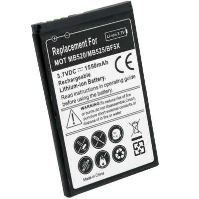 BF5X Battery for Motorola MB520 BRAVO MB525 DEFY #6556#