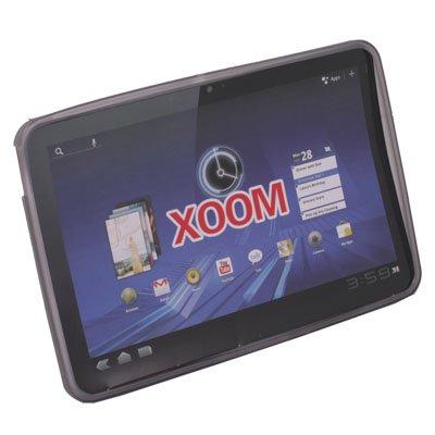 For Motorola XOOM TPU Skin Cover Case Gray