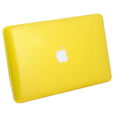 For MacBook Air 11.6 Slim Crystal Hard Case Yellow