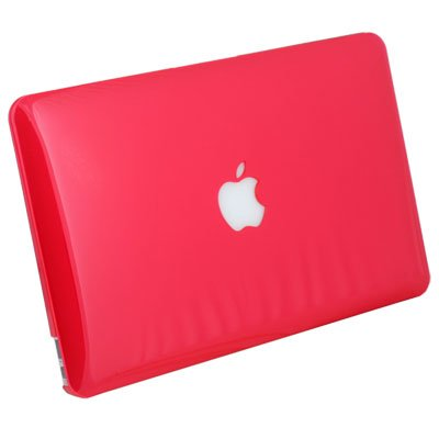 For MacBook Air 11.6 Slim Crystal Hard Case Red